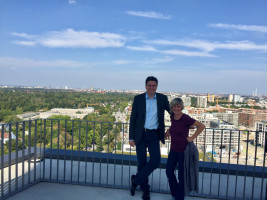 Guter Ausblick über den Münchner Süden