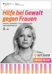 Hilfetelefon für Frauen (in deutscher Sprache) - (Bundesamt für Familie und zivilgesellschaftliche Aufgaben)