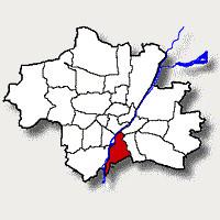 Hier sehen Sie wo der Stadtbezirk 18 in München liegt.